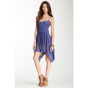 Free People Embroidered Meadow Slip Dress